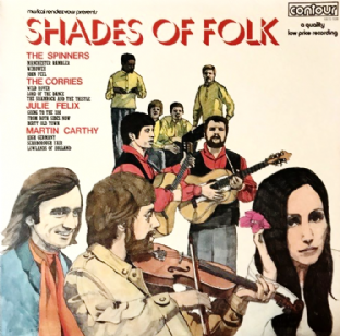 V/A - Shades Of Folk (LP) (EX-/G+)
